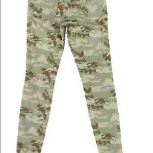 NWOT Jessica Simpson Camo Skinny Jeans